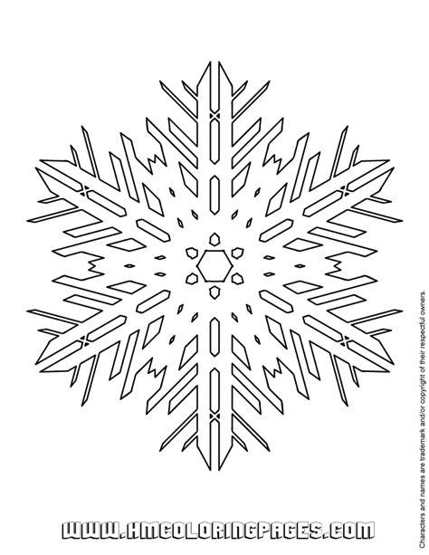 giant snowflake coloring page huge snowflake coloring page h m coloring pages