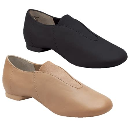 capezio showstopper slip on jazz shoe dancemania dancewear