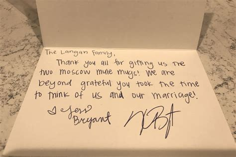 thank you letter for wedding gift received kris bryant is sending thank you notes to fans who sent him wedding gifts wrigleyville