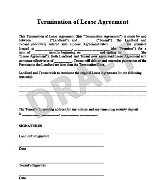 Sle Lease Termination Agreement California Make A Free Lease Termination Letter In Minutes Templates