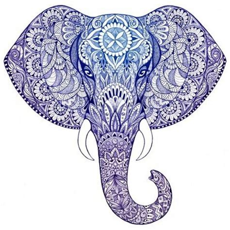 Elephant Zentangle Tattoo | zentangle elephant google search for work pinterest