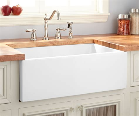drop in farmhouse kitchen sink 33 drop in farmhouse sink in grande overflow shop