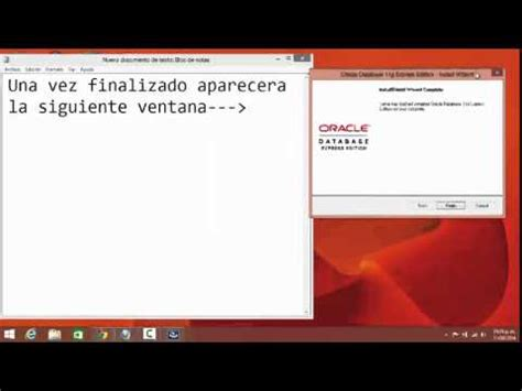 tutorial oracle database 11g tutorial para oracle database 11g express edition intalar