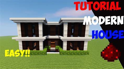 youtube membuat rumah minecraft tutorial cara membuat rumah modern 7 youtube