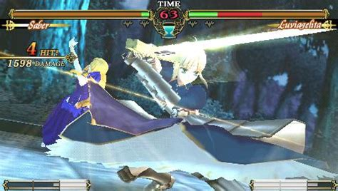 fate stay night unlimited codes side by side comparison video fate unlimited codes usa psn iso