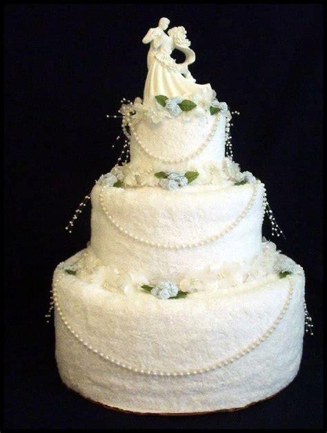 Bridal Shower Idea Towel Wedding Cake by Bridal Towel Cake Crafts Towel Cakes Cakes