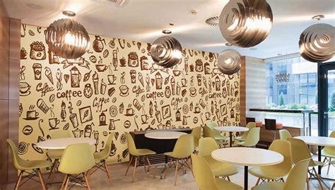 jual wallpaper dinding  mempercantik kafe