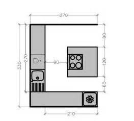 plan de cuisine avec 238 lot central les 6 exemples 224