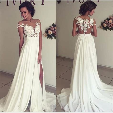Lace Dress Dress Dress Cny Dress see through wedding dresses lace prom dresses wedding gown prom dresses 2017