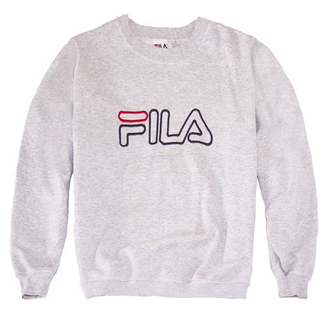 Hoodie Zipper Sweater Fila fila og sweatshirt