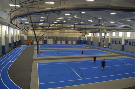 field house the hill school indoor track and field