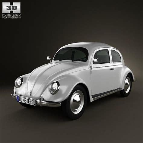 volkswagen beetle  cgtrader