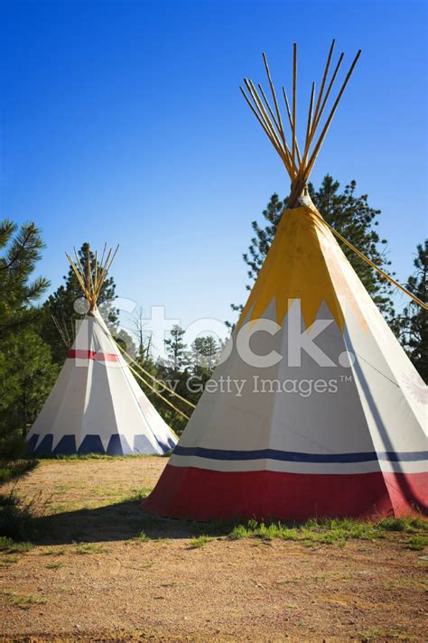 tende indiane tende indiane tepee fotografie stock freeimages