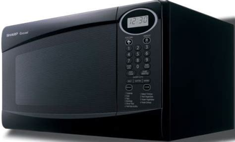 Microwave Sharp R230 sharp r 230kk compact microwave oven black 0 8 cu ft capacity 800 watts 4 digit lcd display