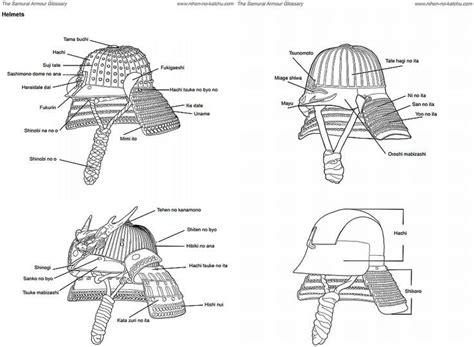 samurai helmet template kabuto helmet template search diy and crafts