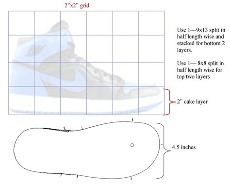 3d paper shoe template shoe cake template 3d high top sneaker