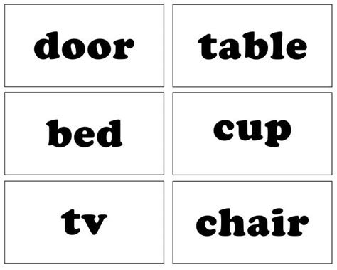 spelling word flash card template printable flash cards sight words 1