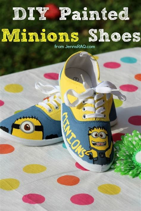 diy minion shoes diy painted minions shoes from jennsraq stuff