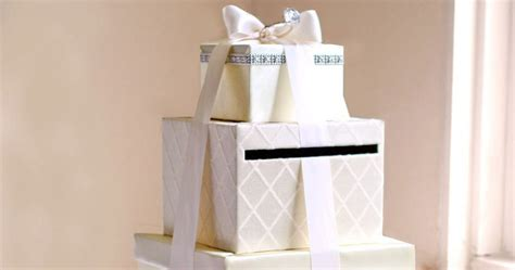 wedding box tutorial diy wedding card box tutorial andrea handmade