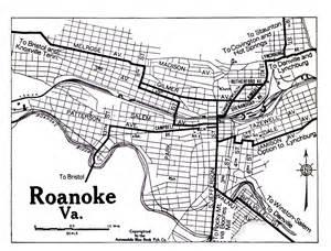 Map Of Roanoke Virginia by Roanoke Virginia