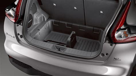 nissan juke interior trunk trunk cargo differences