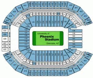 arizona cardinals seating map arizona cardinals tickets preferred seats
