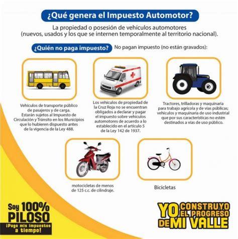 liquidar impuesto automotor transito de cali quot impuestos de vehiculos quot liquidar
