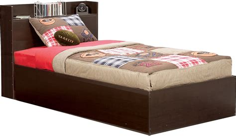 childrens bed big league twin mates bed united furniture warehouse