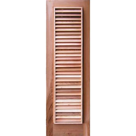 window cover sauna louvered cedar window cover
