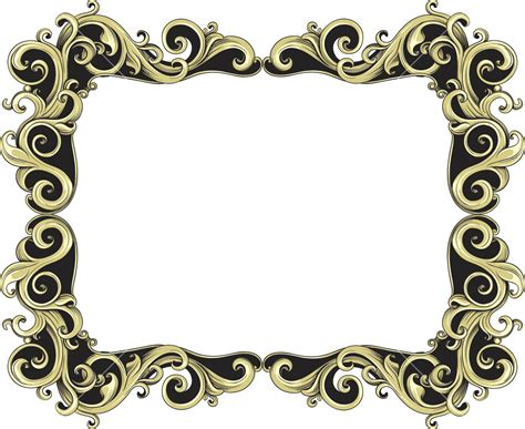 photo frame design vector vintage frame vector element royalty free stock image