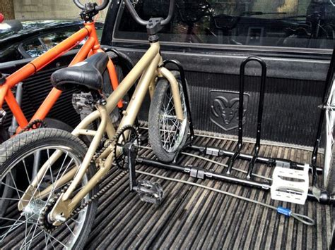 How To Build A Truck Bed Bike Rack by Cheap Bike Rack For A Truck Bed