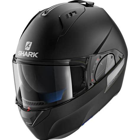 Shark Evo One Modular Helmet shark evo one 2 blank solid matt black flip front motorcycle helmet kma modular ebay
