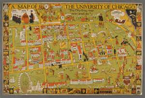 University Of Chicago Campus Map by We Are Chicago Student Life In The Collections Of The