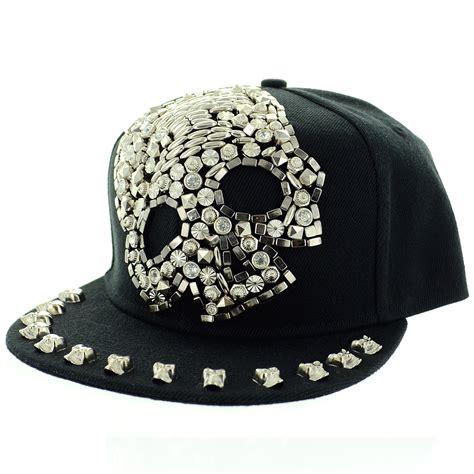 unsex studded skull baseball cap 303686 910 ins