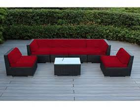 Ohana Patio Furniture by Ohana Collection 7 Piece Ohana Outdoor Patio Wicker