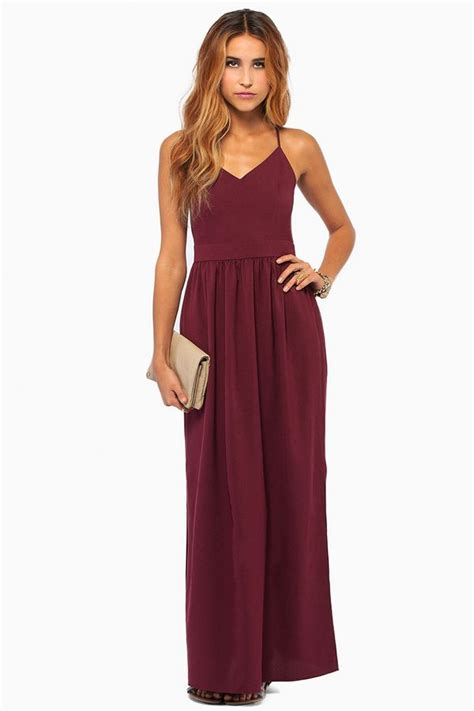 Maxi Vera Maroon the color and the back style style maxi dresses and order