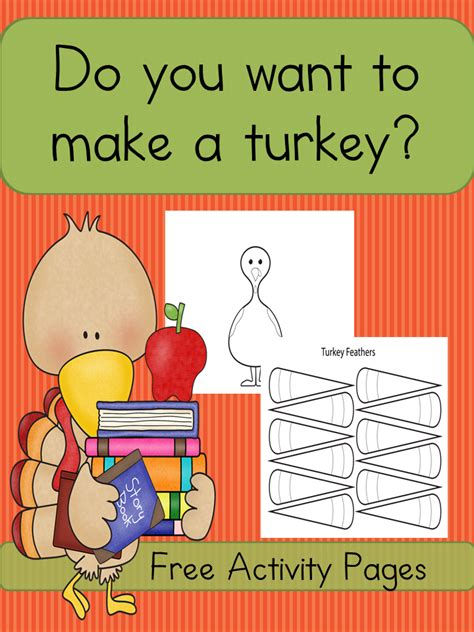 printable turkey to make make a turkey worksheets easy and fun craft for kids
