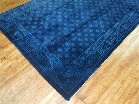 cobalt blue rug peking cobalt blue carpet at 1stdibs