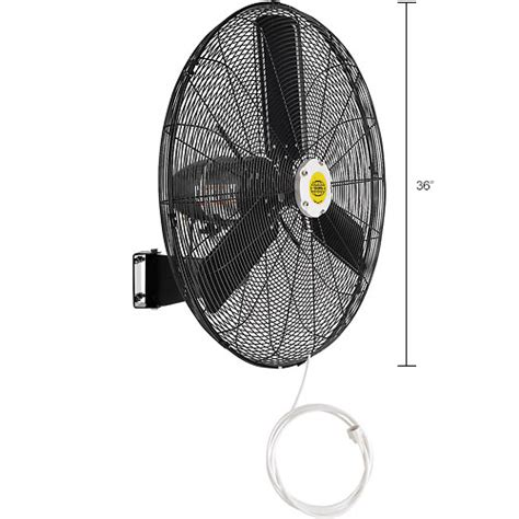 global oscillating wall mount fan 24 diameter evaporative coolers sw coolers misting fans