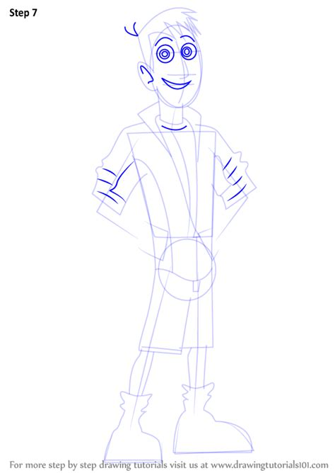 How To Draw Kratts Step By Step step by step how to draw martin kratt from kratts