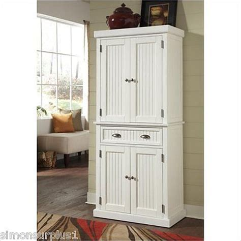 White Wood Pantry Cabinet by White Wood Pantry Cupboard Kitchen Furniture Cabinet