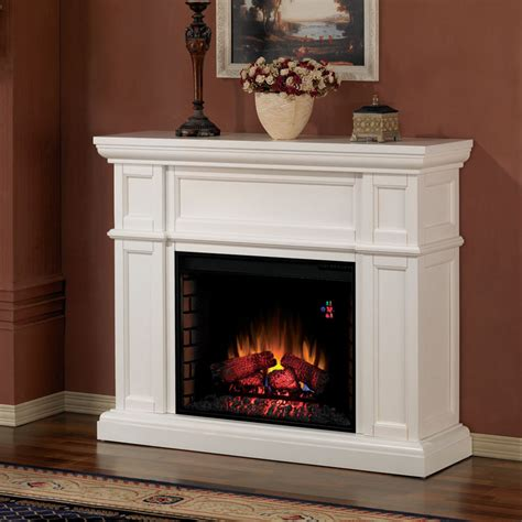 White Electric Fireplace This Item Is No Longer Available