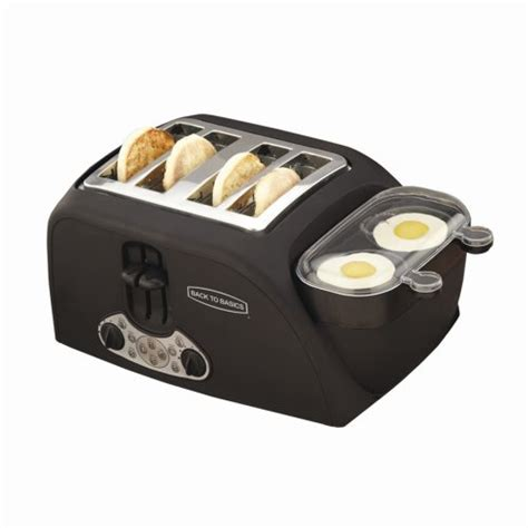 West Bend 4 Slice Egg And Muffin Toaster Hamilton Beach Bread Maker
