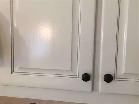 Horizon cabinets & Gull Wing Gray island   2 Cabinet Girls