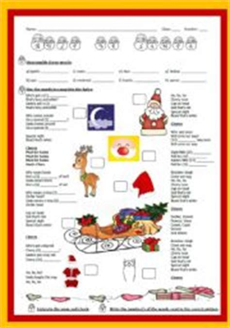 printable lyrics must be santa christmas song must be santa by bob dylan with answer key