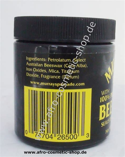 Jual Pomade Murray S Black Beeswax murray s black beeswax 4 oz afro cosmetic shop