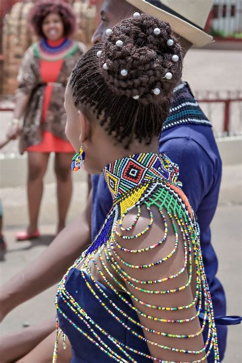 necklaces on traditional nigerian attires a vibrant two day western and ndebele wedding my style