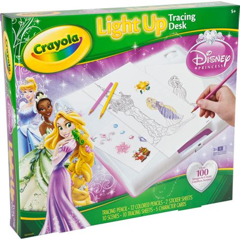 Crayola Light Up Tracing Desk crayola princess light up tracing desk walmart