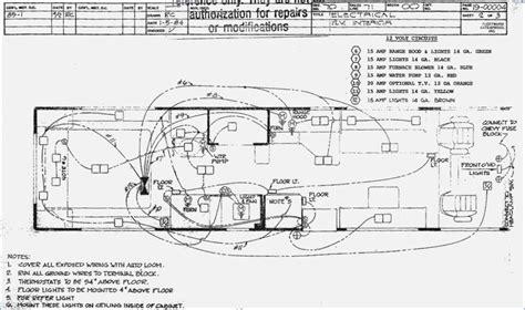 monaco motorhome wiring diagram wiring diagram with