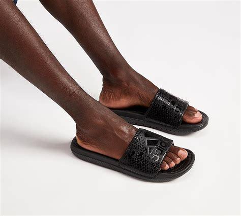adidas originals voloomix graphic slides black black